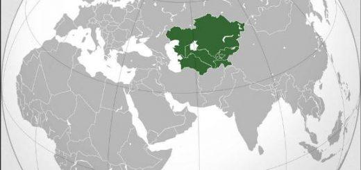 Central Asia Location