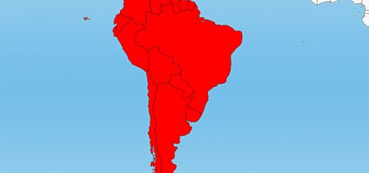 South America Location